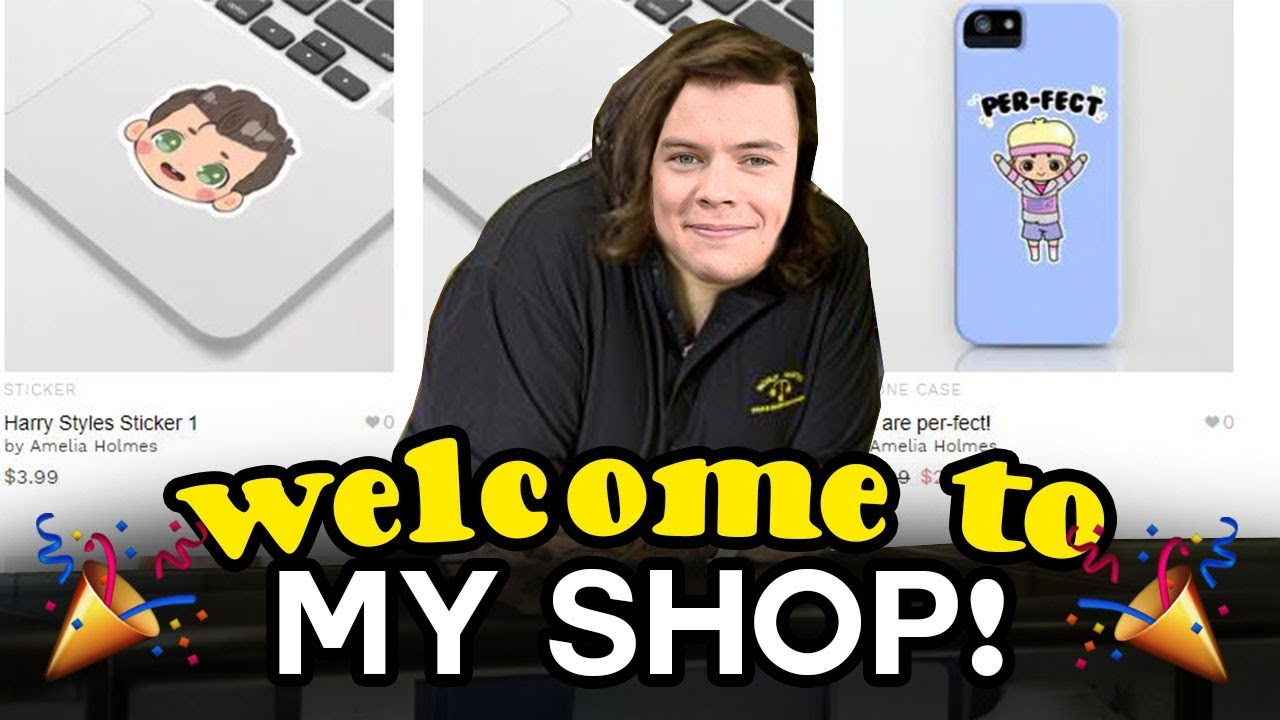 Want some ONE DIRECTION MERCH? 😉 My shop!