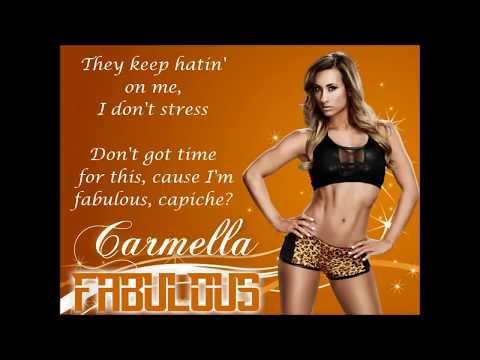 Carmella WWE Theme Song - Fabulous (lyrics)