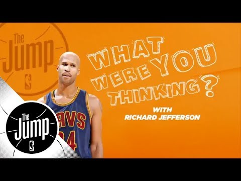 Richard Jefferson reveals what he was thinking during epic career moments | The Jump | ESPN