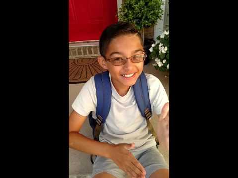 Adrian's 7th Grade Interview 8-11-16