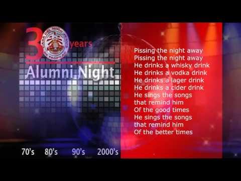 CNJP Alumni Night 2013 Lyric Video (I Get Knocked Down)