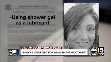 Family of woman who died in Graham County custody demands answers
