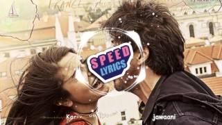 Gambar cover Radha – Jab Harry Met Sejal | Shahid Makkya | Sunidhi chauhan | Full Lyrics Video