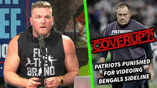 The Patriots Covered Up Getting Punished For Spying On The Bengals?!