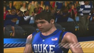 College Hoops 2K6 #1 Duke Blue Devils vs #2Connecticut Huskies