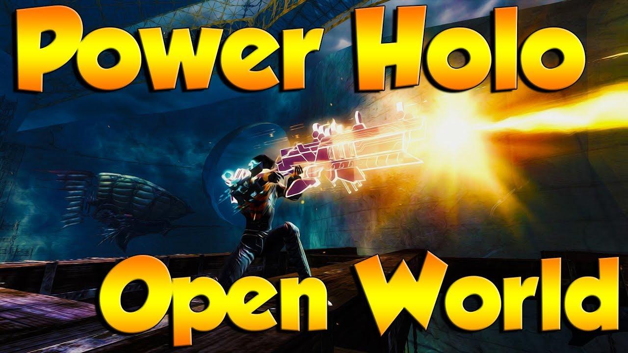 Kitless Power Holo - Open World