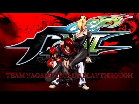 The King Of Fighters XIII: Team Yagami Arcade Playthrough & Ending (PS3)