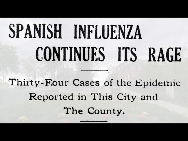 The 1918 Spanish Flu in Carroll County