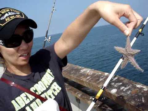 Santa Monica Pier Fishing - 산타모니카 낚시