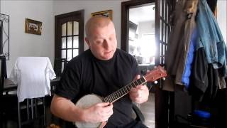 Queen   Bohemian Rhapsody Instrumental Part 2 Banjo Ukulele Banjolele Lesson Easy Acoustic