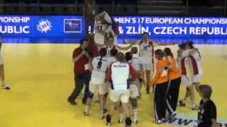 Гандбол. Чемпионат Европы 2011 среди юниорок 7