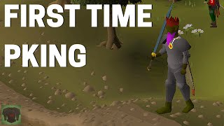 PKING FOR THE FIRST TIME (literally the first time ever)