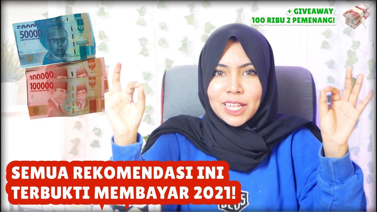 BARU! 3 REKOMENDASI APLIKASI PENGHASIL UANG TERCEPAT 2021 ...