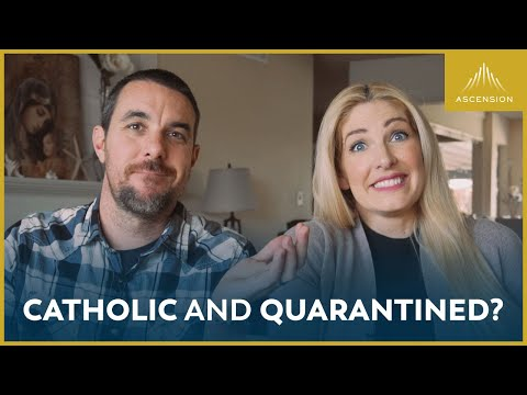 Staying Catholic While Stuck at Home