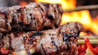 ULTIMATE GRILLED PORK SKEWERS (ШАШЛЫК)! - feat. Mr. Ramsay the Owl