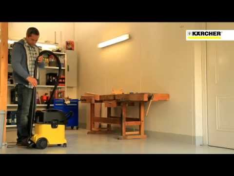 karcher aspirateur wd7200 youtube. Black Bedroom Furniture Sets. Home Design Ideas