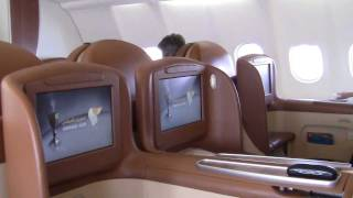 Oman Air Business Class, Abflug Muscat
