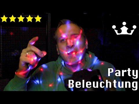 Disco Lichteffekte Discokugel Disco-Licht mit Fernbedienung