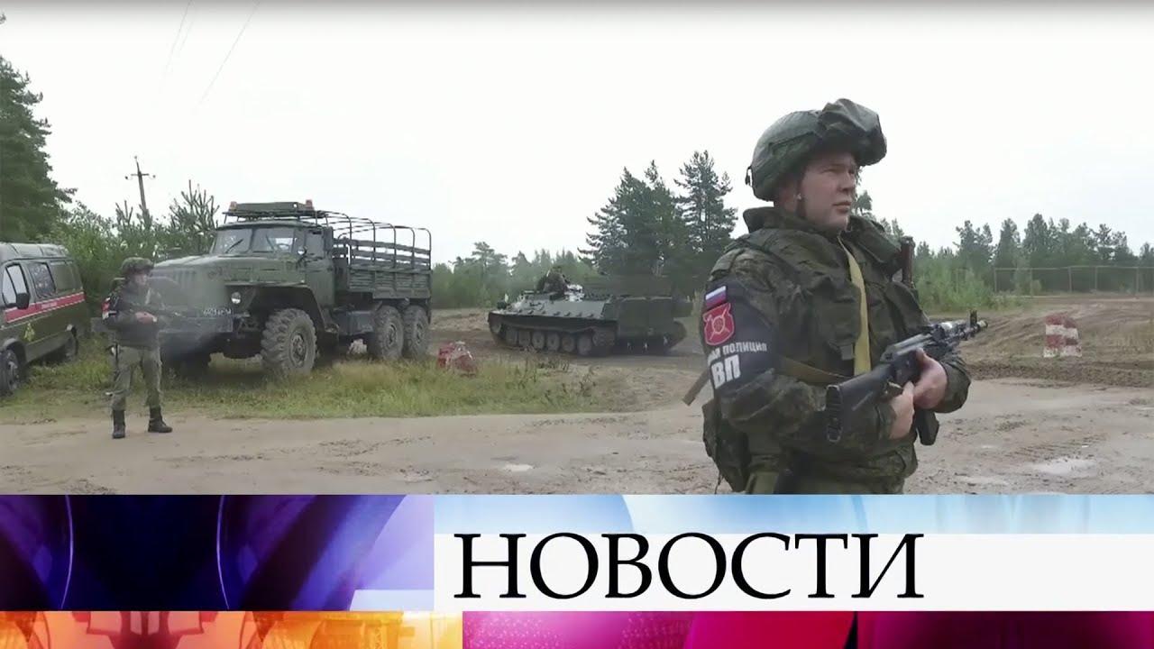 В России и Белоруссии стартовали масштабные военные учения «Запад-2017»