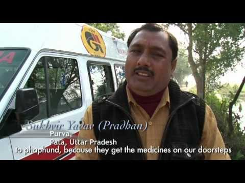 Free mobile health care units in India by Wockhardt Foundation