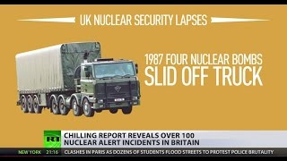 Playing with fire  Dozens of nuclear alerts underreported by British MoD, study reveals
