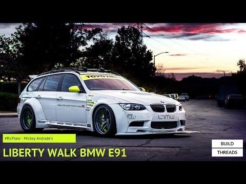 Mickey Andrades Liberty Walk BMW E91 #RicFlare