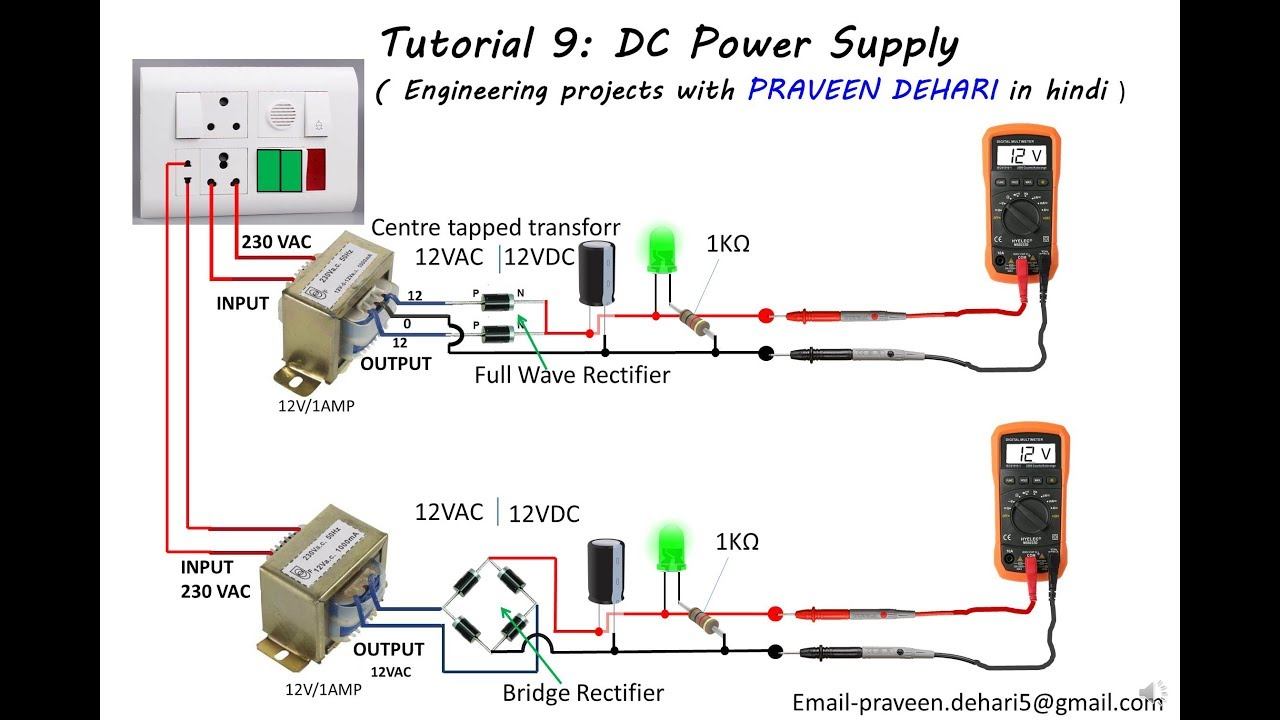 Dc Power Supply   Tutorial 9