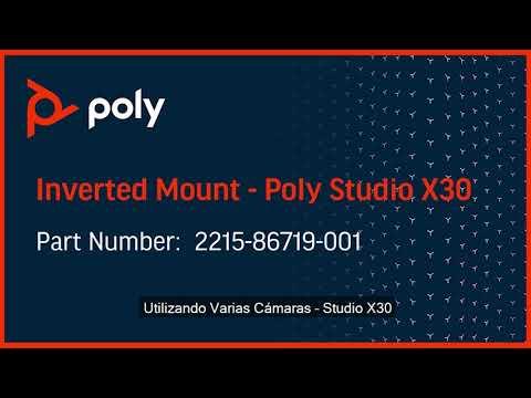 Poly Studio X30 instalación invertida - Español