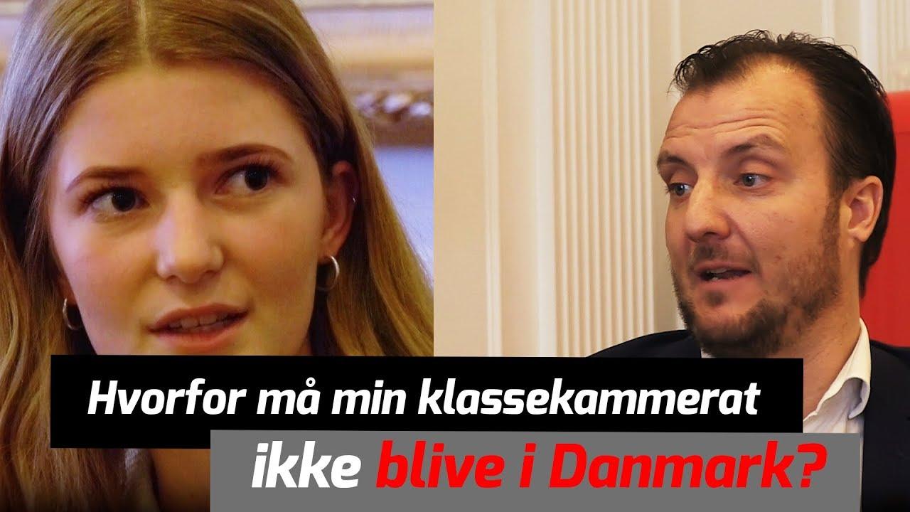 Flygtninge skal ikke blive i Danmark | John og Sofie møder Morten Marinus fra Dansk Folkeparti