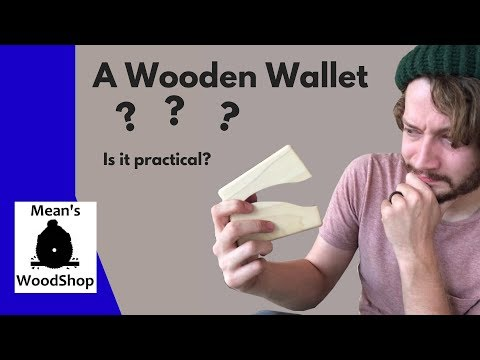 How To Make A Wooden Wallet