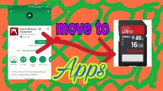 how to move apps to sd card from internal memory on any Android phone