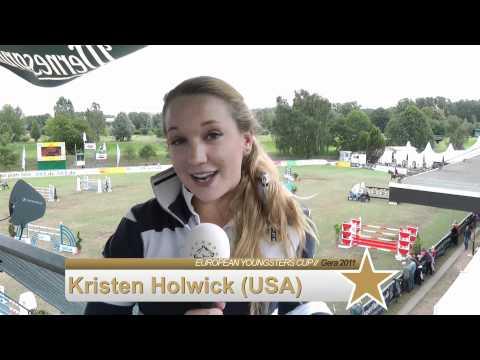 Portrait Kristen Holwick (USA) EYCUP