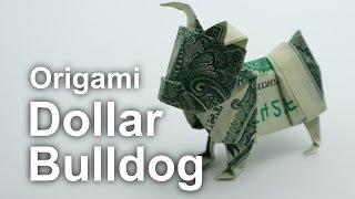 Origami Dollar Bulldog (Janessa Munt)