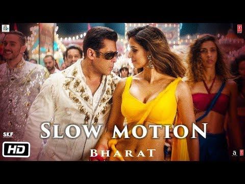 Slow motion me song bharat 1st video | SLOW MOTION | salman khan | disha patani