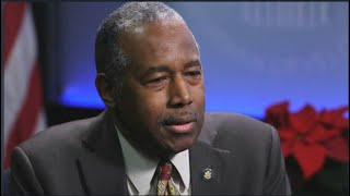"Ben Carson calls reparations for slavery ""unworkable"""