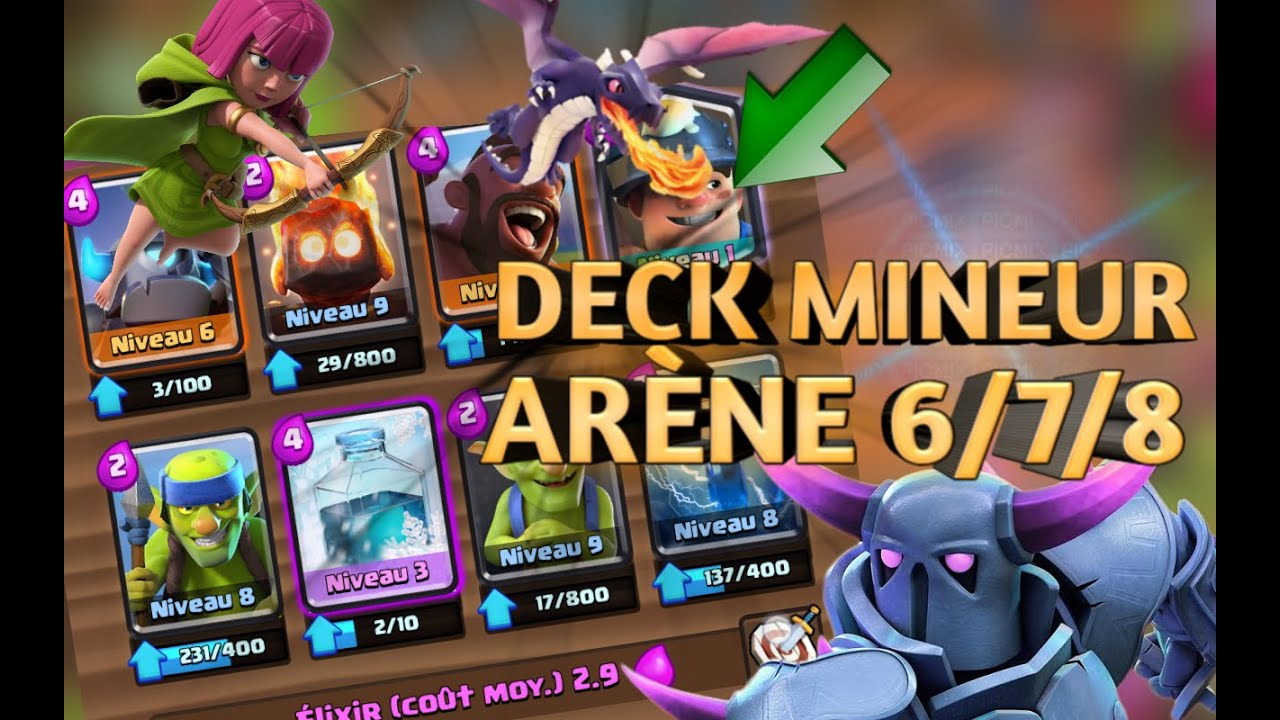 Deck mineur gratage ar ne 6 7 8 youtube for Deck arene 6 miroir