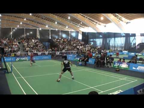 Canada Open  MS Taufik Hidayat v Brice Leverdez Set 2 Part 2