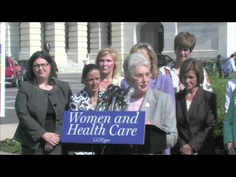 GOP Women Health Care Press Conference