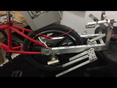 Pregnant Neodymium Magnets!  Magnetic Bike Made By Oren Gertel