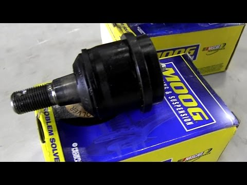 MOOG Ball Joints Steering & Suspension Fix