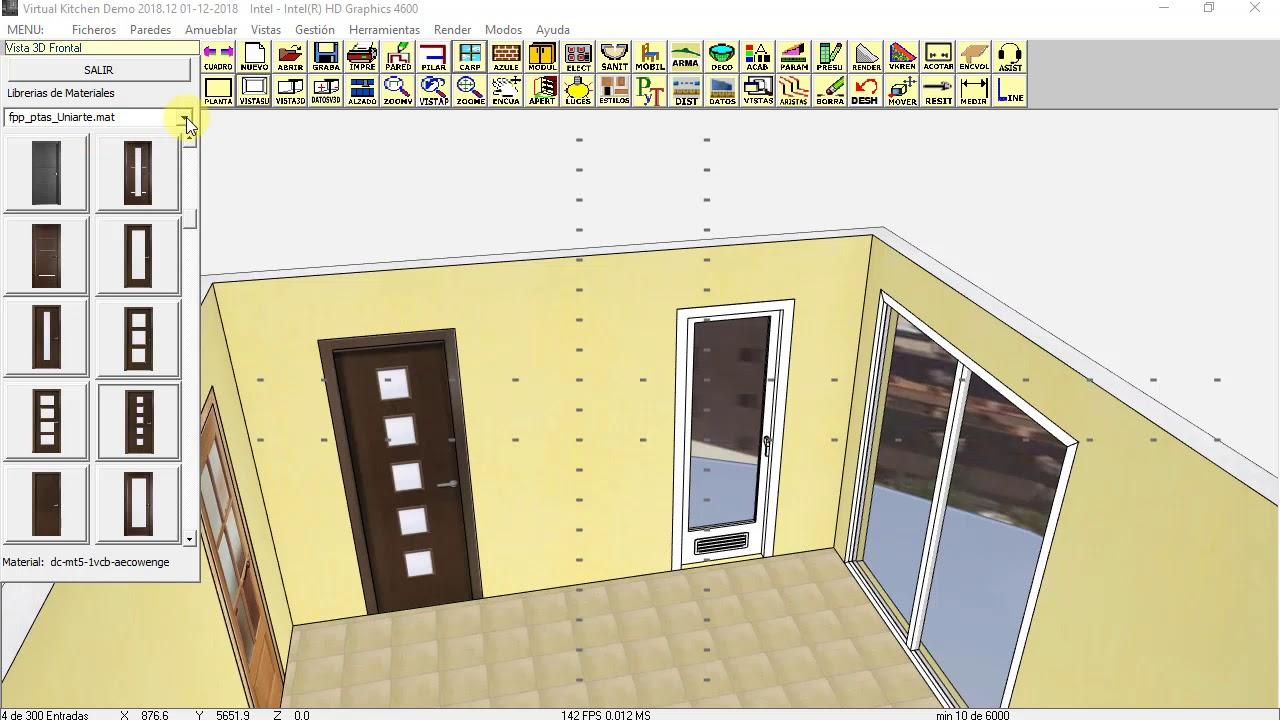 CARPIN 01 virtualkitchen programa diseño cocinas 2018