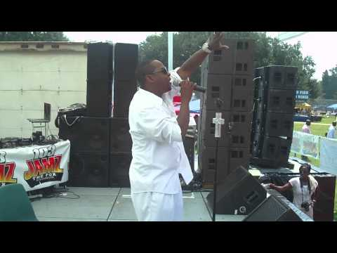 Eric Simmons performs LORD I THANK YOU AT MAYFEST IN AUGUSTA GEORGIA