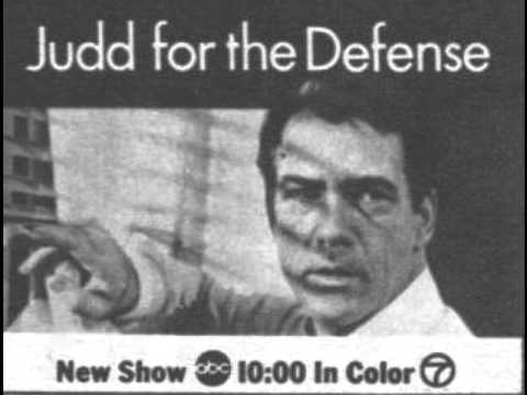 """Judd For The Defense"" (1967-1969)  -- Theme by Alexander Courage"