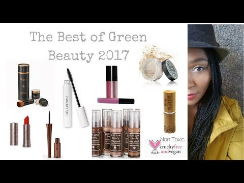 THE BEST OF BEAUTY 2017 | Natural & Organic Non Toxic Green Beauty Favorites