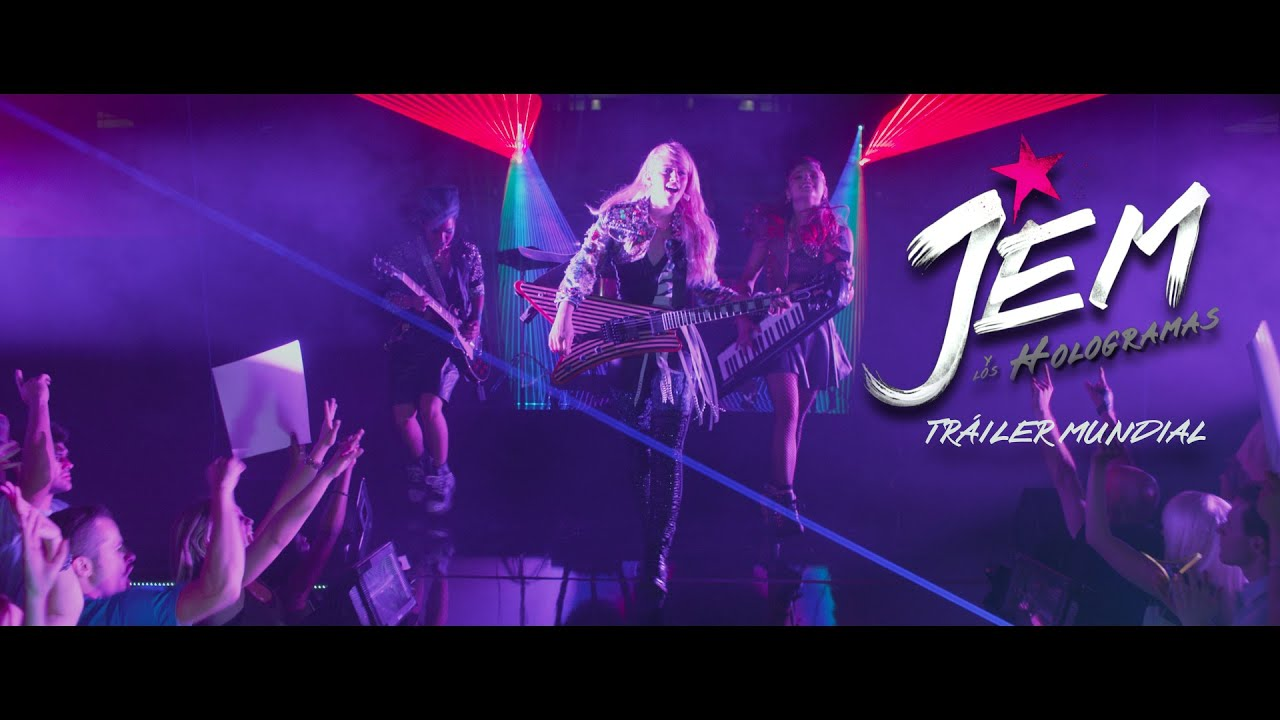 Jem y los Hologramas: Trailer 1 (Universal Pictures) [HD]