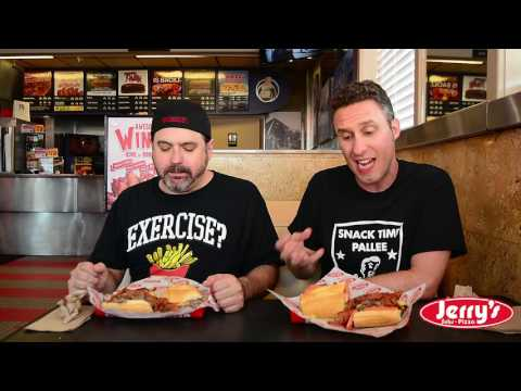 "Jerry's Subs & Pizza ( SAS Snack reviews ""THE FAT DADDY CHEESESTEAK"" )"