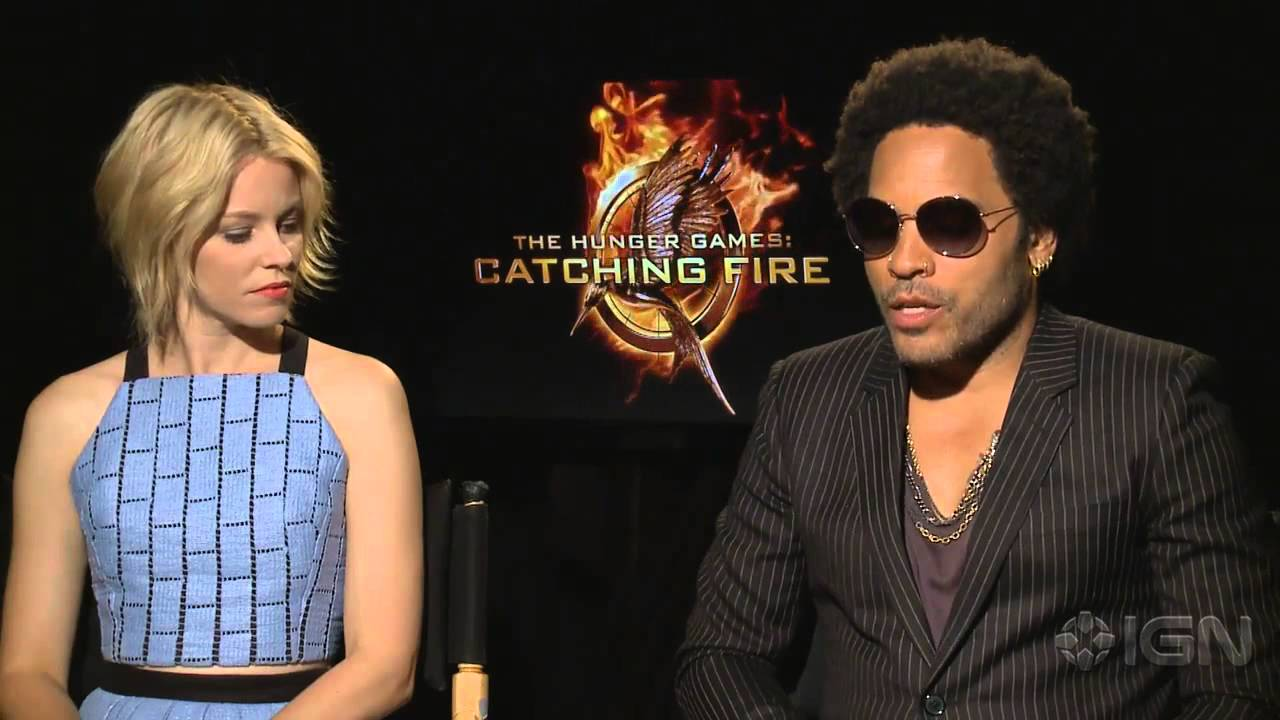 The Hunger Games: Catching Fire - Elizabeth Banks and Lenny Kravitz Interview