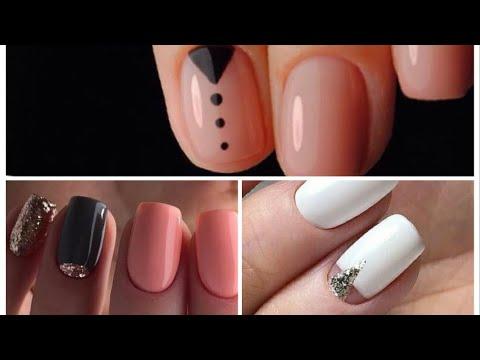 3 Manichiuri simple pentru unghii mici