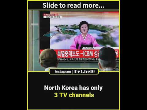 Some wierd facts about North Korea by Bethel Entertainment Company