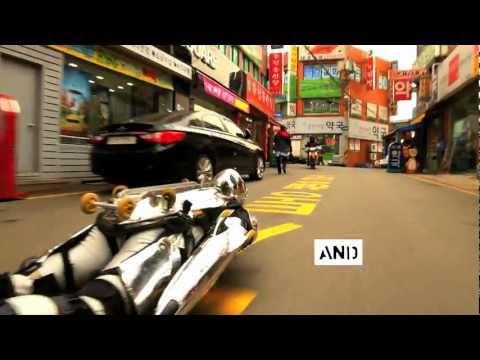 Rollerman introduces busan short film festival